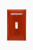Emergency switch. poster