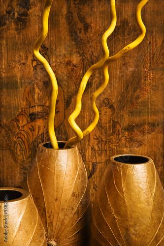 Interior vases.