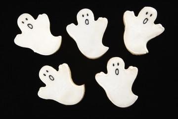 Ghost sugar cookies.