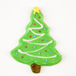 Christmas tree cookie.