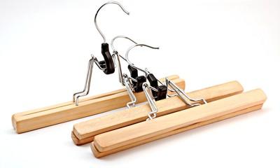Three hangers