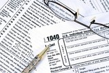 IRS Income Tax Preparation poster