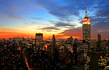 Fototapety New York City skyline