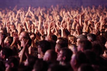 foule concert fête