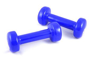 Blue Dumbells