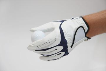Golfball Golfhandschuh
