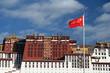 Potala Palace with flag