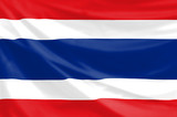 flag of the kingdom of thailand poster