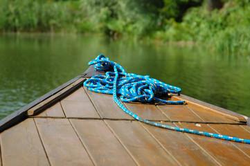Line on boat