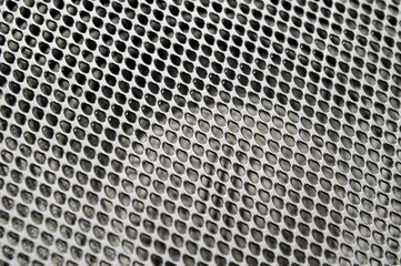 metal audio speaker mesh abstract