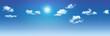 Leinwanddruck Bild - clouds
