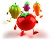 Légumes en marche