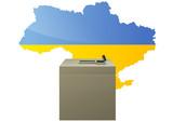 Election ukrainienne poster