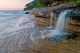 Miner's Beach Cascade Pictured Rocks National Lakeshore-
