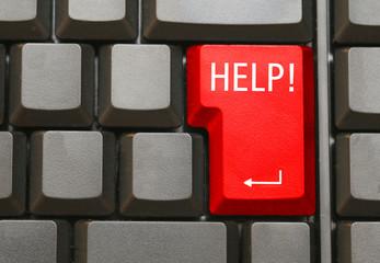 Tastatur mit Help Taste