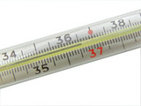 thermometer point normal temperature poster