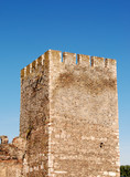 Tower of old castle Smederevo on Danube in Serbia Europe