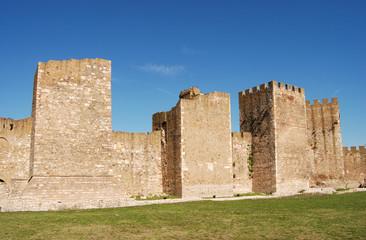 Old castle Smederevo on Danube in Serbia Europe