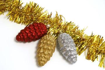 yellow christmas scarf