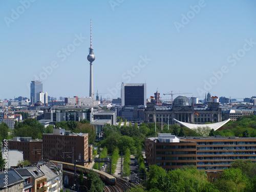 berlin panorama spring