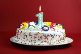 Fototapety Birthday Cake - One