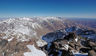 Mountains. Morocco. High-Atlas.