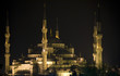 Blue Mosque (Istanbul) at night