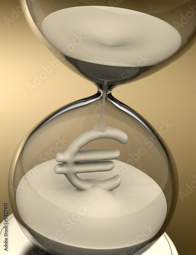 Time is Money (hourglass)
