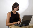 Woman on Laptop 3