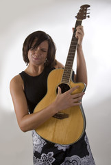 Woman with Guitar 5