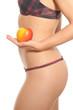 Schlank mit Obst