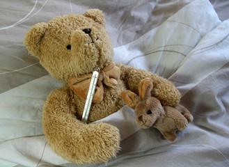 sick bear