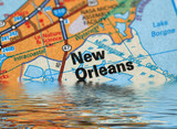 Flooding in New Orleans poster