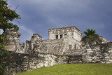 Mayan ruins of Tulum. Located on the Yucatan Peninsula of Mexico poster