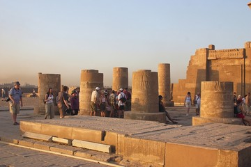 Kom Ombo - Egypt - view of temple