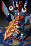Alebrije. Mexican handcraft made in Oaxaca. Latin America poster