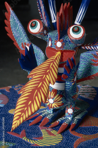 Alebrije. Mexican handcraft made in Oaxaca. Latin America