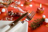 Fototapety Table de noel gastronomique