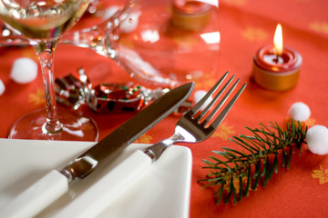 Table de noel gastronomique