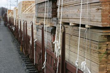 railway wagon-timber 1