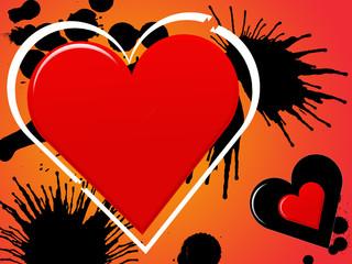 Liebe mit Flecken