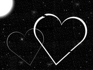 Mond und die Liebe