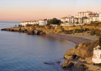 A beautiful Spanish sunset - summertime