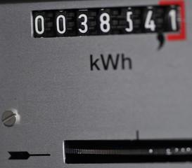 Tickender Stromzähler