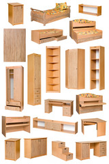 An image of various furniture