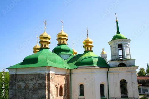 Pecherskaya Lavra church - religious edifice, Kiev, Ukraine