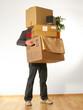 Kartons tragen