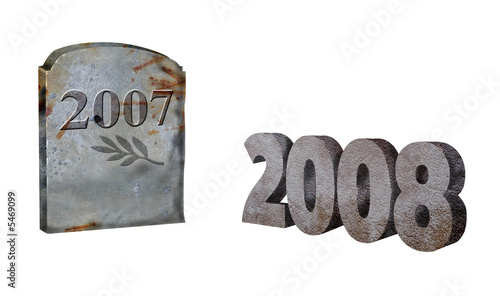 2008 and 2007 year in concrete