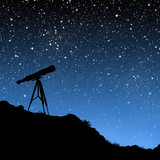 Telescope Under the Stars - 5470878