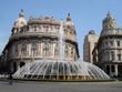 Springbrunnen in Genua / Italien